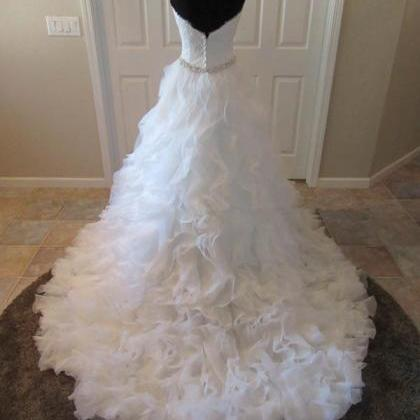 Wedding Dresses,organza Wedding Gow..